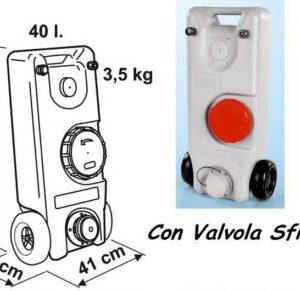 Roll Tank 40W Fiamma con Valvola-0