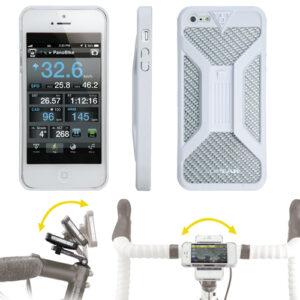Custodia Bianca Porta Iphone 5 da Bici Topeak-0