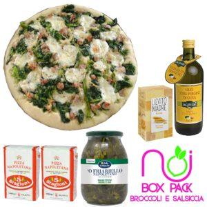 pack broccoli e salsiccia